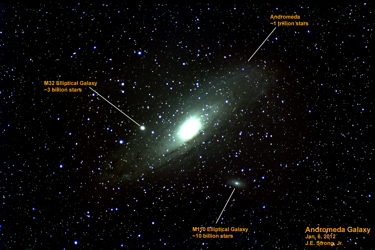 andromeda galaxy distance from - photo #41