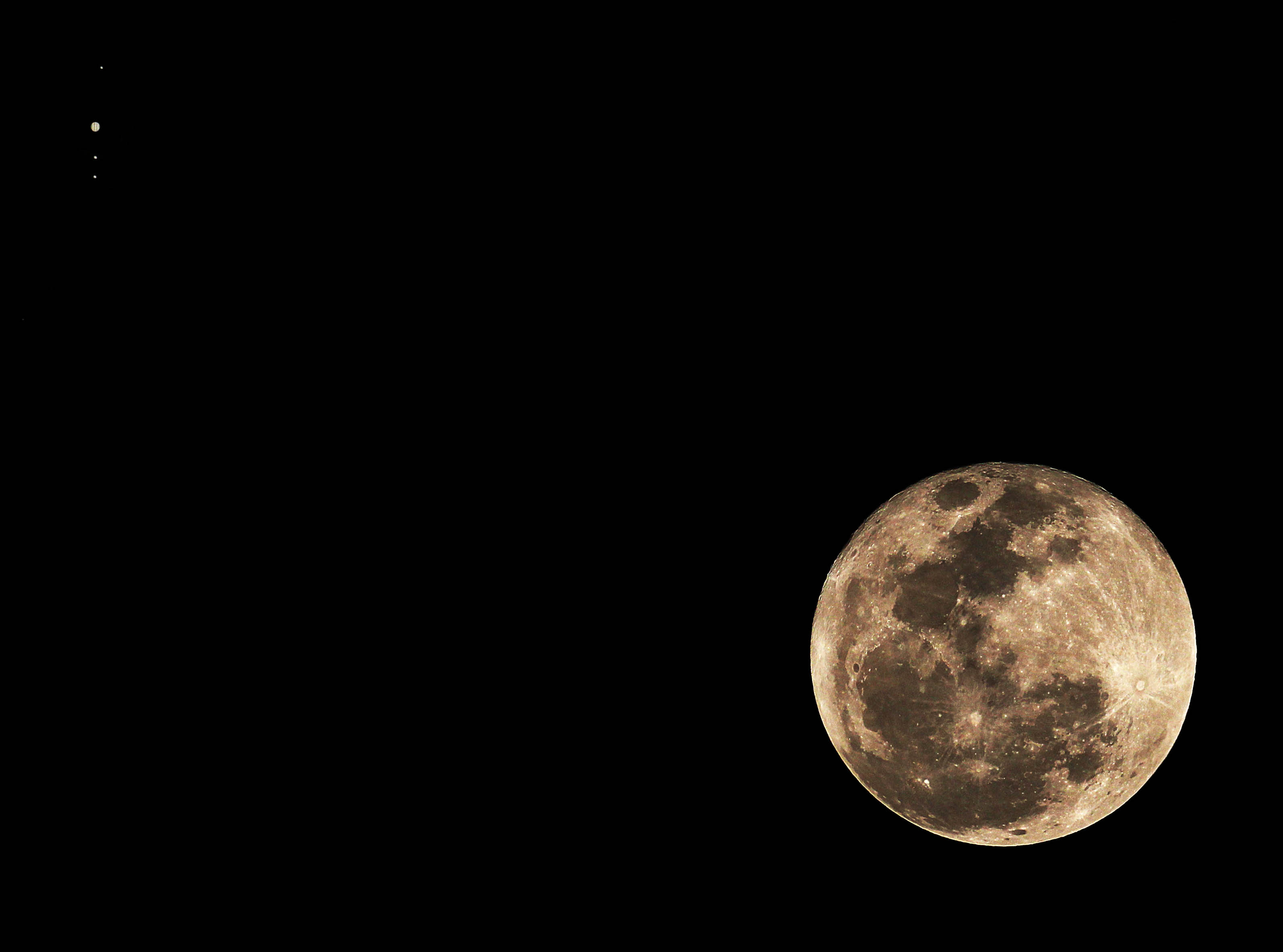 Submission Gallery: 2012 November Moon-Jupiter Conjunction ...